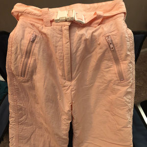 Ladies Tyrolia PINK SKI PANTS size 6
